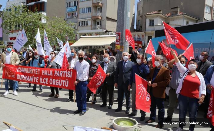 Burhaniye'de 1 Mayıs