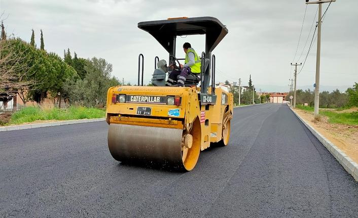 Büyükşehir'de asfalt çalışmaları hızlandı