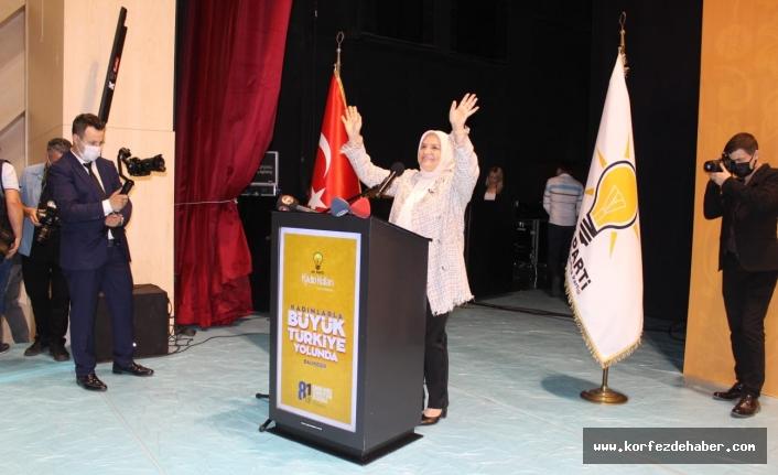 AK PartiKadın Kolları Başkanı Ayşe Keşir Balıkesir'de