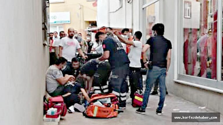 Sokak ortasındaki tartışmada bıçaklandı, hastanede kurtarılamadı