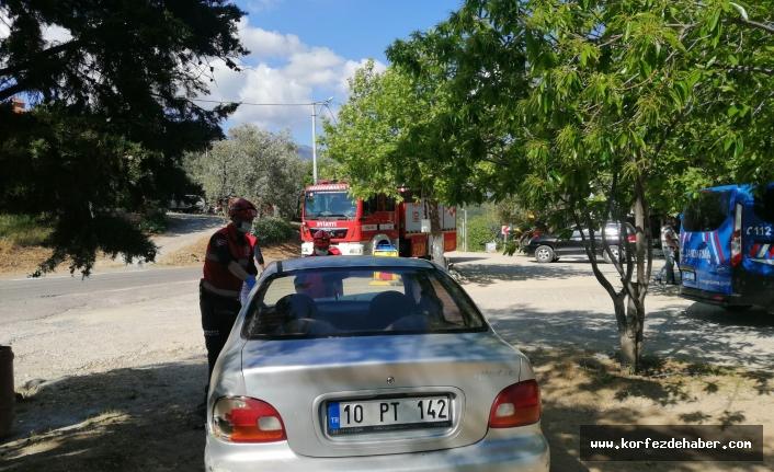 Son Dakika: Edremit'te kaza ucuz atlatıldı