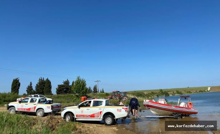 Bandırma'da şüpheli ölüm. Su motoru tamiri için girdiği göletten çıkamadı