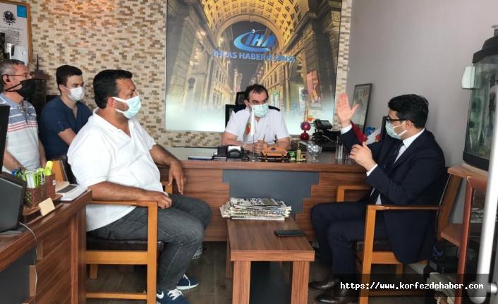 Edremit Kaymakamı Turgay Ünsal'ın ziyareti ile onur duyduk