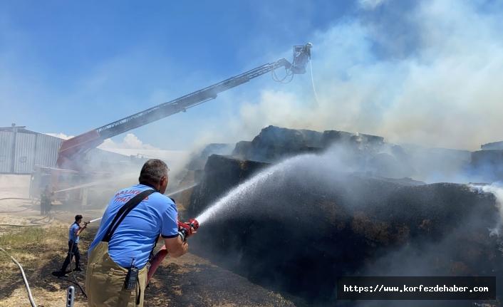 #sondakika Bandırma'da korkunç yangın
