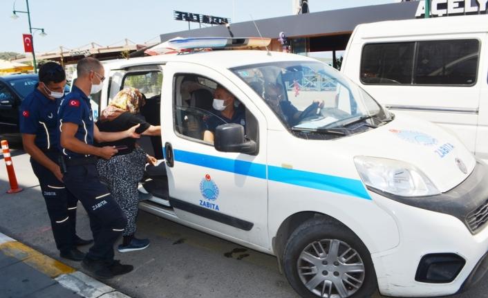 Taksiciler almadı imdada zabıta ekipleri yetişti