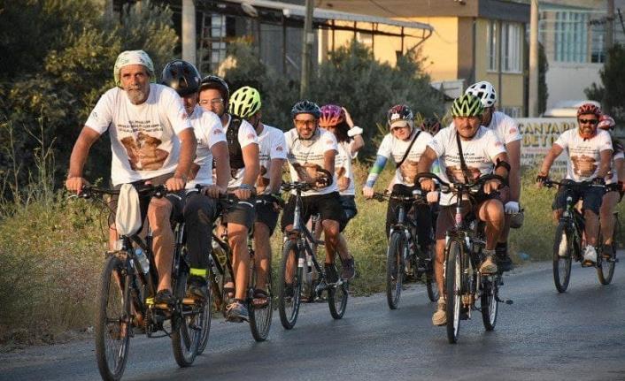 Engelsiz Bisikletliler pedal çevirdi