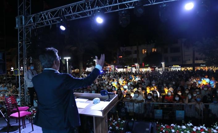 1 Eylül Dünya Barış Günü Edremit'te kutlandı