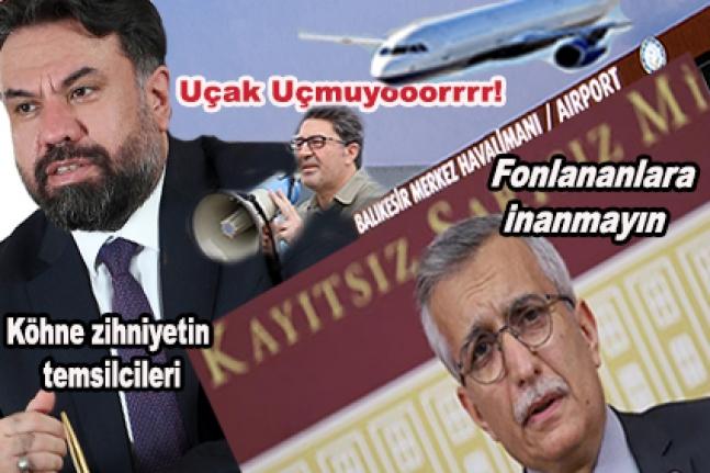 Balıkesir'de siyasetin gündemi 'Havaalanı'