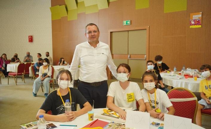 CATS of Small Village çocuklar için yaratıcılık ve oyun konferansı Küçükköy'de başladı