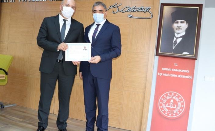Edremit İlçe Mili Eğitim Müdürlüğü BİGEP Ödüllerini Dağıttı