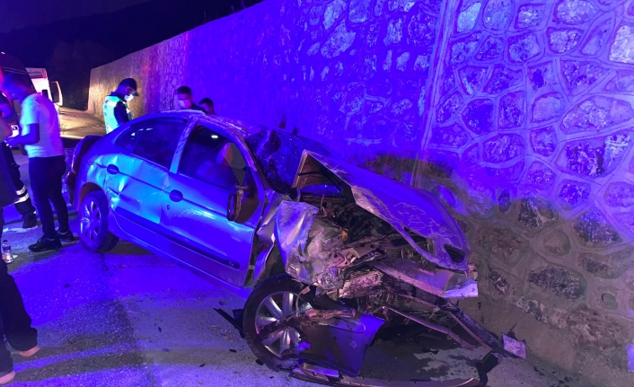 Kepsut'ta kaza korkuttu: 4 yaralı