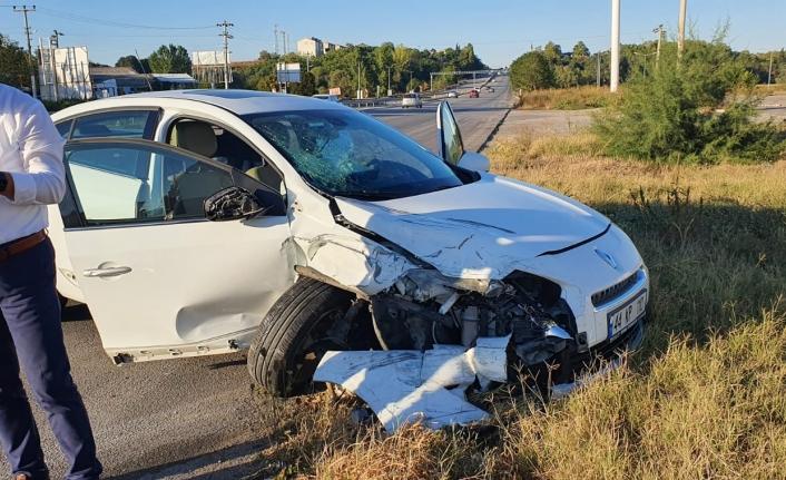 Susurluk'ta yine kaza: 4 yaralı