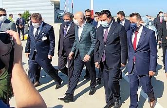 Ulaştırma ve Altyapı Bakanı Adil Karaismailoğlu Ayvalık'ta