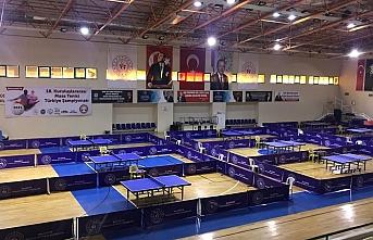 Kuruluşlararası Masa Tenisi Türkiye Şampiyonası Burhaniye'de başlıyor.