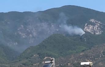 Korkutan Yangına 7 Helikopter ve 1 Uçakla Müdahale Ediliyor