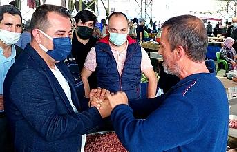 Edremit'te Ak Parti rüzgarı