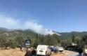 Kazdağları'ndaki yangına 7 helikopter bir uçakla müdahale ediliyor
