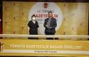 TGC Türkiye Gazetecilik Başarı Ödülleri sahiplerini...