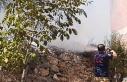 Balya'da ot yangını büyümeden söndürüldü
