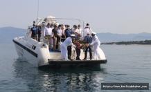 Denizcilik ve Kabotaj Bayramı Burhaniye'de düzenlenen törenle kutlandı