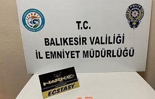 İzmir'den otobüsle uyuşturucu getiren şüpheli...