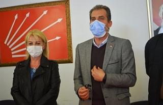 CHP Ayvalık İlçe Başkanı Şalmanlı, iddiaları...