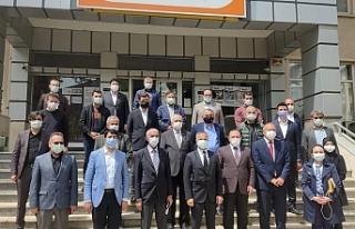 STK başkanları Şehit Aybüke için Edremit'te