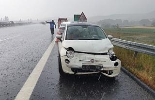 Susurluk'ta 2 kaza:: 2 yaralı
