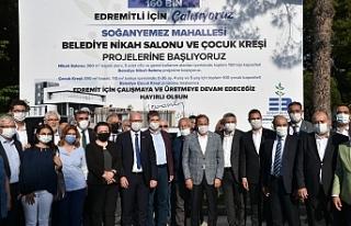 Kreşlerin temelini CHP genel başkan yardımcıları...