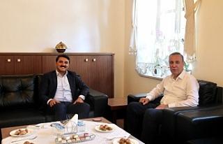 AK Parti Siirt Milletvekili Osman Ören, Edremit Kaymakamı...