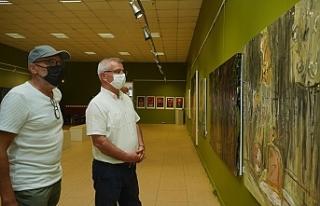 Sencer Gülün sergisi sanatseverlerle buluştu