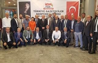 TGK Genel Başkanı Nuri Kolaylı güven tazeledi....