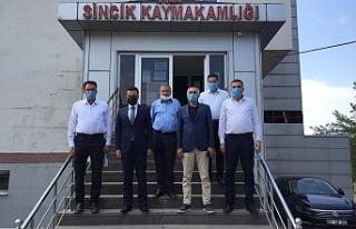 AK Parti Adıyaman Milletvekili Yakup Taş, Sincik...