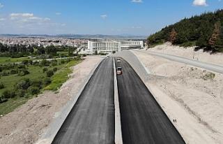 Büyükşehir OSB yolunu kısa zamanda hizmete açacak