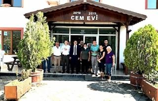 Edremit Kaymakamı Turgay Ünsal, Bayram Kaya Körfez...