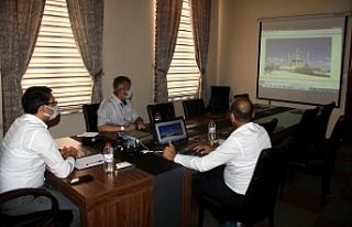 Edremit Ulu Camisi projesi ile ilgili toplantı gerçekleşti