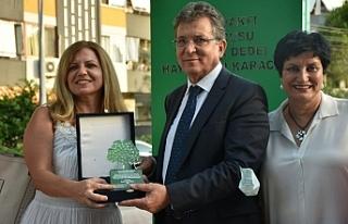 Edremit'te Hayrettin Karaca Parkı açıldı