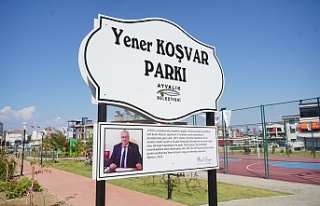Muhtar Yener Koşvar'ın Adı Park'ta Yaşayacak