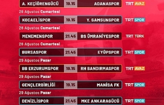 TFF 1. Lig'in 3. Hafta Karşılaşmaları Canlı...