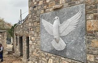Barış Güvercini Heykeli üzerine...