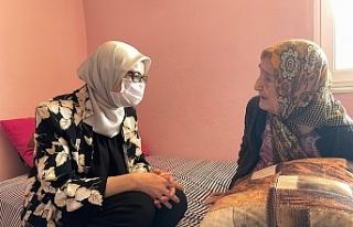 Milletvekili Belgin Uygur, Edremitte ziyaretlerde...