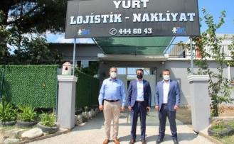 Kaymakam Ünsal'dan Ege Yurt Lojistik Firmasına ziyaret