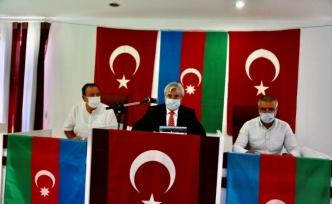 İvrindi belediye meclisinden Azerbaycan'a destek