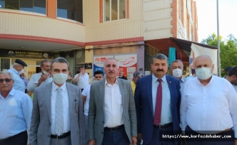AK Parti Adıyaman Milletvekili Yakup Taş, Besni ilçesinde esnaf ziyaret etti.