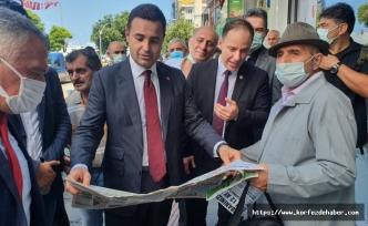 CHP'li heyet Zonguldak'a çıkarma yaptı