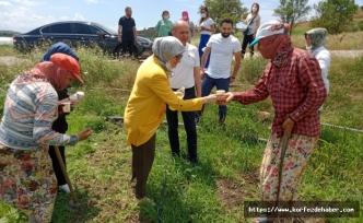 Milletvekili Belgin Uygur, Karesi Kırsal Mahalle ziyareti