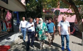 Belgin Uygur, Bigadiç'te yatırımları inceledi