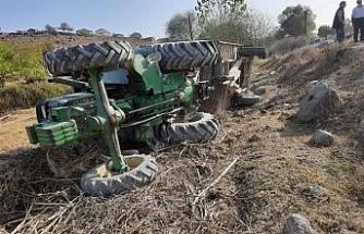 Balıkesir'de traktör kazası: 1 yaralı