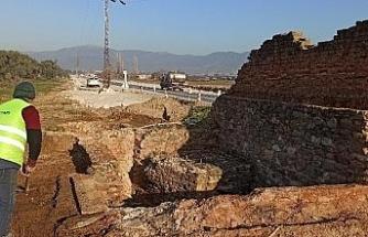 Çevre yolu çalışmalarında Osmanlı döneminden kalma su kuyusu ortaya çıktı