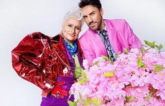 Faruk K'dan 75 yaşındaki ikonik teyze ile ile ilginç kareler